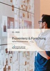 Provenienz & Forschung Heft 1/2020