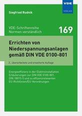 Errichten von Niederspannungsanlagen gemäß DIN VDE 0100-801