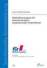 Methodennavigator für Business-Analytics produzierender Unternehmen