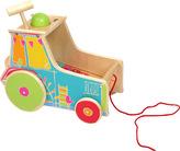 Small Foot Dřevěná motorická hra traktor s xylofonem