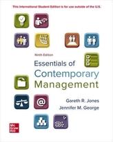 ISE Essentials of Contemporary Management