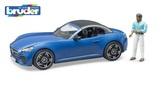 Bruder Sportovní auto Dodge s figurkou