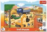 Puzzle Na staveništi