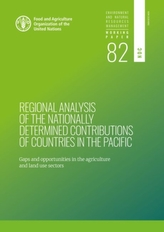 Regional analysis of the nationally determined contributions in the Pacific