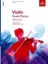 Violin Exam Pieces 2020-2023, ABRSM Grade 1, Part