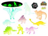 Dinosauři svítící ve tmě 4-7cm 16ks v sáčku