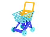 Nákupní vozík 40x33x58cm modrý v síťce
