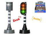 Semafor nebo rychlostní radar 15cm na baterie se světlem a zvukem