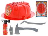Požární set s helmou 5ks v krabičce