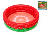 Bazén nafukovací 160x38cm jahoda 3komory 24m+ 390L v krabičce