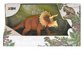 Dinosaurus Triceratops 18cm v krabičce