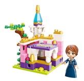 Qman Princess Leah 2613-3 Zámecká zahrada
