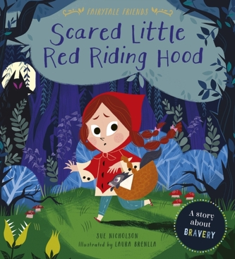 Scared Little Red Riding Hood