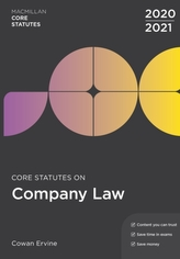 Core Statutes on Company Law 2020-21