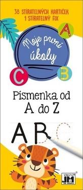 Moje první úkoly Písmenka A-Z