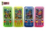 Vodní hra hlavolam mobil plast 11x5cm 4 barvy v sáčku