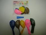 Balónky Narozeninové - Vše nejlepší