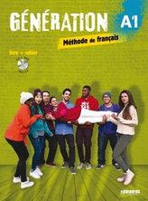 Génération A1 UČ+PS+CD+DVD (komplet)