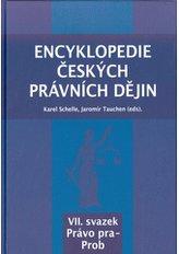 Encyklopedie českých právních dějin, VII. svazek Právo pra-Prob