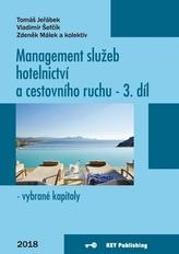 Management služeb hotelnictví a cestovního ruchu III - vybrané kapitoly
