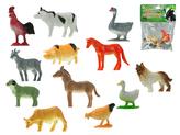 Zvířátka farma 3-5cm 12ks v sáčku
