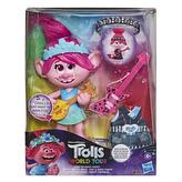 Trolls zpívající figurka Poppy s rockovým příslušentvím
