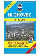 Hlohovec Mapa mesta Town plan Stadtplan Plan miasta Várostérkép