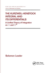 The Kurzweil-Henstock Integral and Its Differential