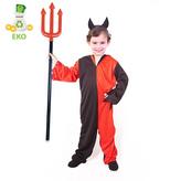 Dětský kostým čert s čelenkou (S) EKO