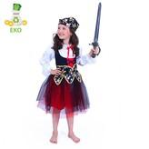 Dětský kostým Pirátka (S) EKO