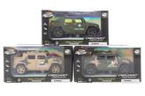Vojenské auto kovové na baterie