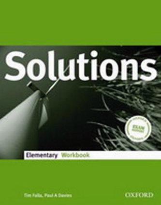 Maturita Solutions Elementary Workbook - Náhled učebnice