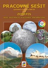 Zeměpis 7, 2. díl - Asie, Austrálie a Oceánie, Antarktida (barevný pracovní sešit)