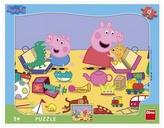 Puzzle 12 Peppa Pig si hraje