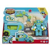 Transformers Rescue Bot auto s přívěsem