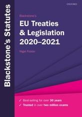 Blackstone\'s EU Treaties & Legislation 2020-2021