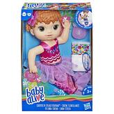 Baby Alive zrzavá mořská panna