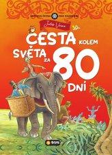 Cesta kolem světa za 80 dní - Světová četba pro nejmenší