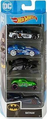 Hot Wheels autíčka Batman 5 ks