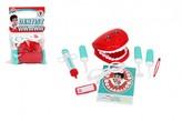 Sada doktor/lékař zubař plast 9ks v sáčku 16x25cm