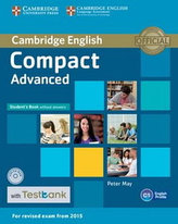 Compact Advanced Student´s Book without Answers with CD-ROM with Testbank