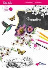 Třpytivé omalovánky - Paradise