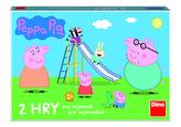 PEPPA PIG POJĎ SI HRÁT A SKLUZAVKY Dětská hra