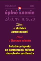 Aktualizácia III/7 2020 – Zákon o službách zamestnanosti