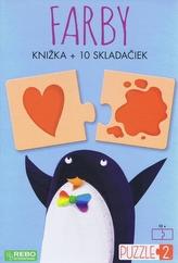 Farby - knižka + 10 skladačiek