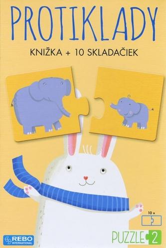 Protiklady - knižka + 10 skladačiek