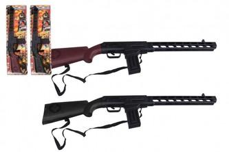 Pistole/Puška klapací plast 68cm na kartě
