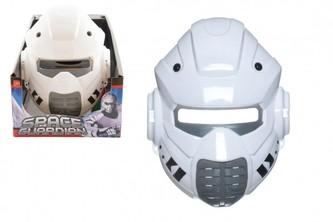 Maska vesmírný ochránce plast 22x17cm  karneval