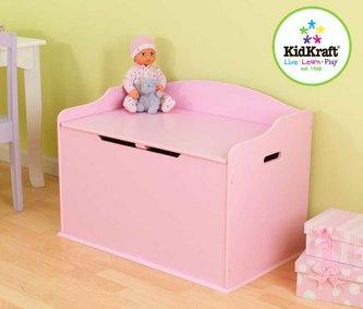 KidKraft  Box na hračky Austin růžový
