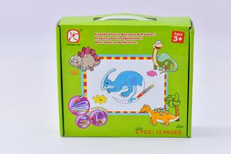 Vybarvovací puzzle zvířata